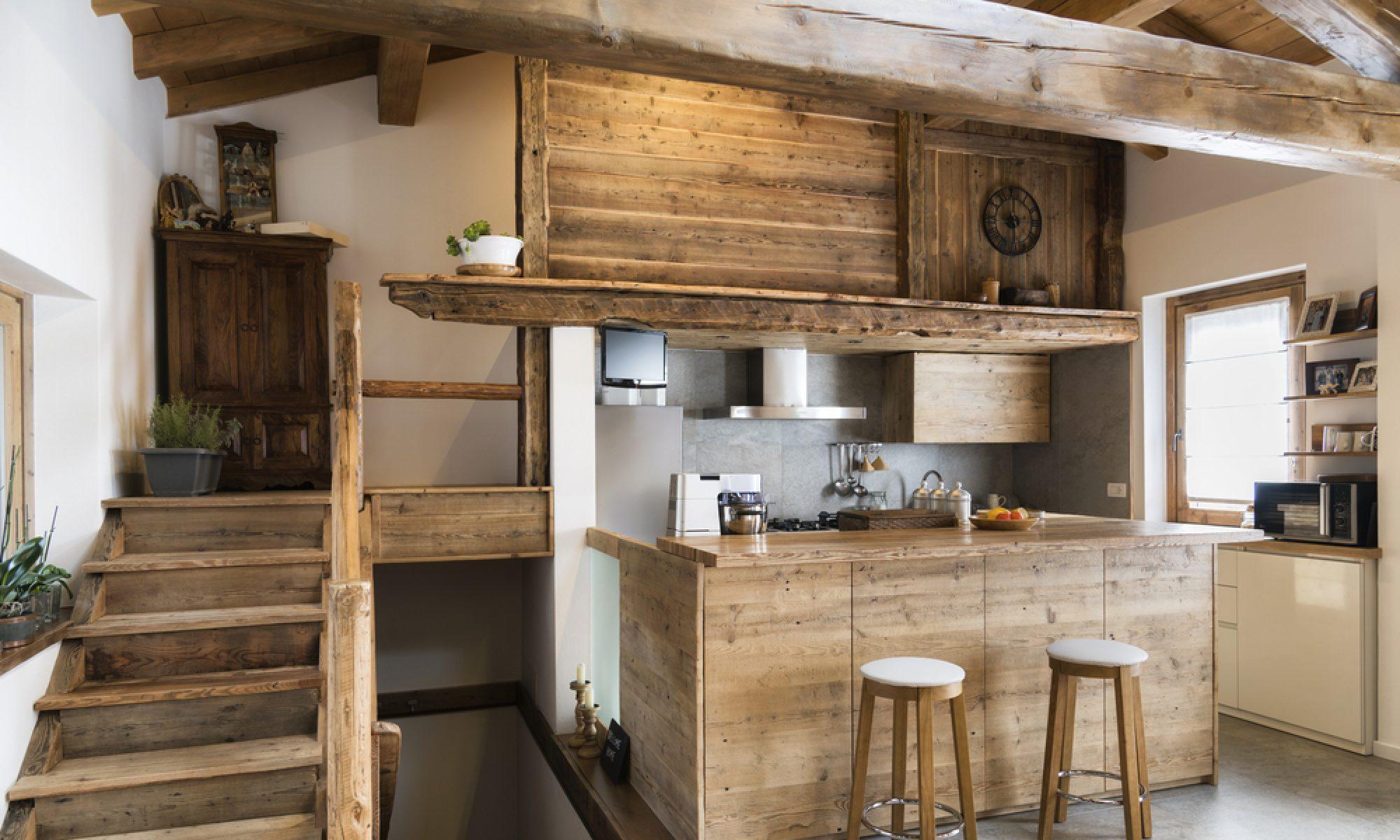 Une maison en bois : Aménager et décorer sa maison avec du bois
