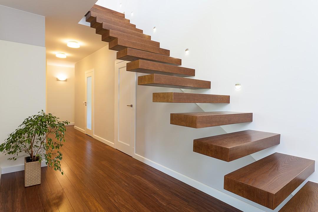 Escalier autoportant