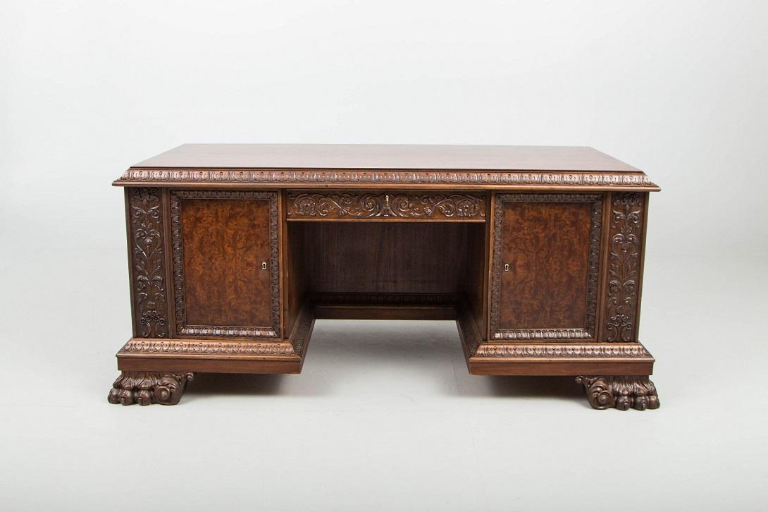 bureau ancien en bois