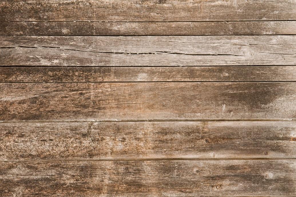 parquet en bois brut