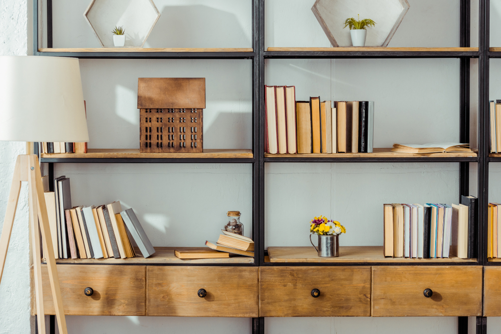 style bibliothèque